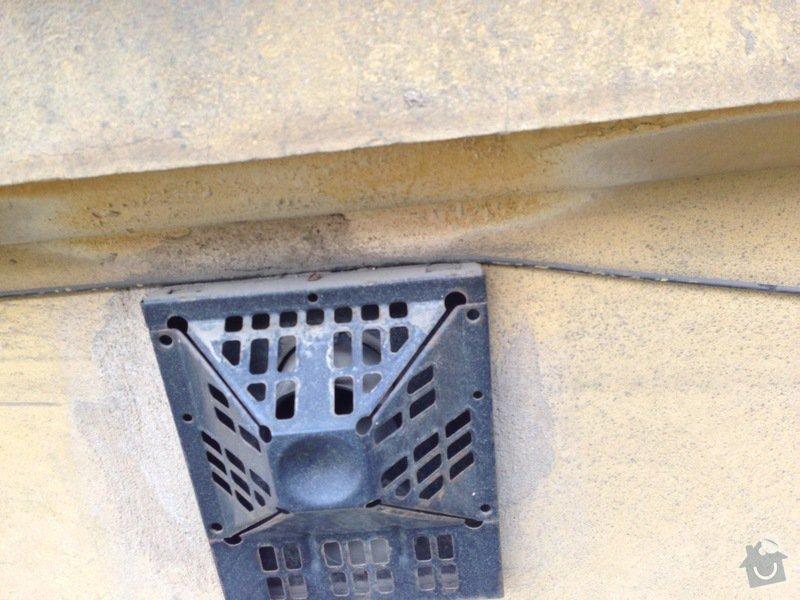 Zazdění 4 otvorů ve zdi po topení WAW: stena1-3