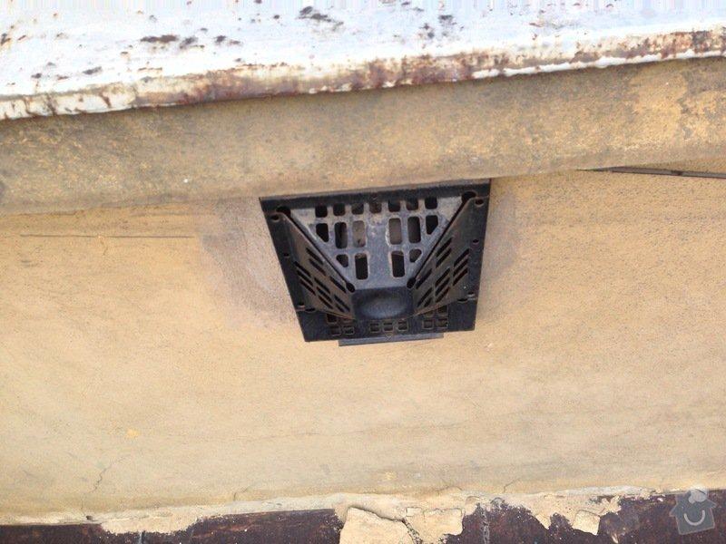 Zazdění 4 otvorů ve zdi po topení WAW: stena1-4