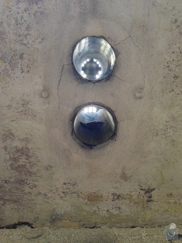 Zazdění 4 otvorů ve zdi po topení WAW: stena2-1