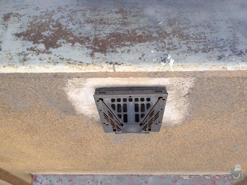 Zazdění 4 otvorů ve zdi po topení WAW: stena2-3