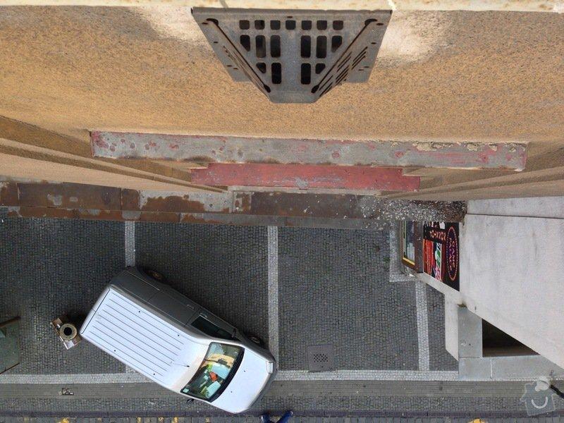 Zazdění 4 otvorů ve zdi po topení WAW: stena2-4
