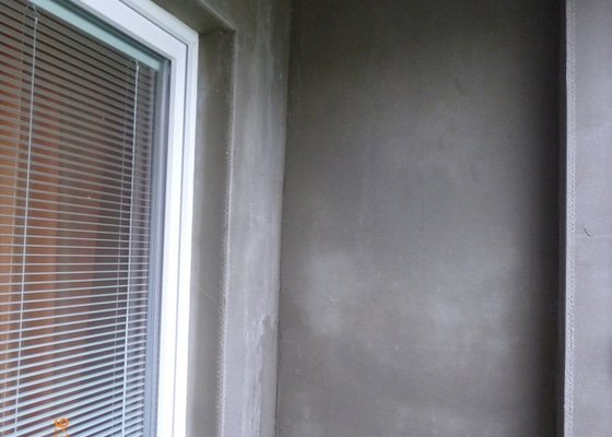 Omítnutí balkonu