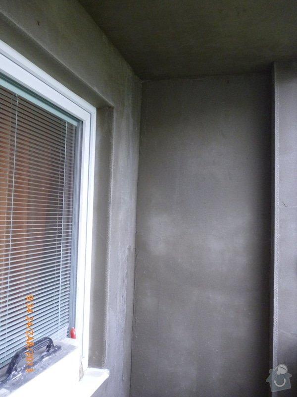 Omítnutí balkonu: P1040443