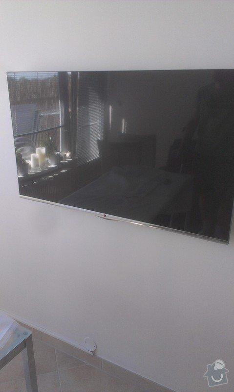 Připevnění LED televize na zeď + schování kabeláže: hodinovy_manzel_praha-5