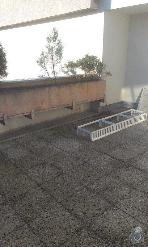 Oprava plavouci podlahy, malirska prace (terasa), oprava dlaždic: Hodinovy_manzel_Praha-5