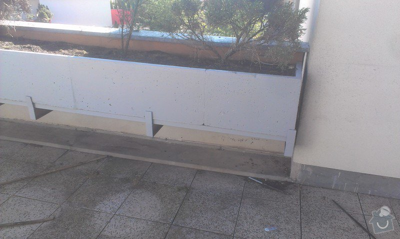 Oprava plavouci podlahy, malirska prace (terasa), oprava dlaždic: Hodinovy_manzel_Praha-6