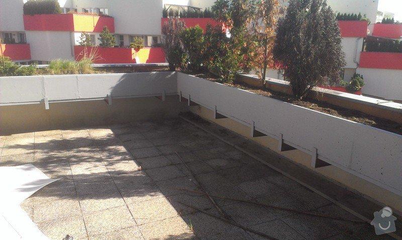 Oprava plavouci podlahy, malirska prace (terasa), oprava dlaždic: Hodinovy_manzel_Praha-7