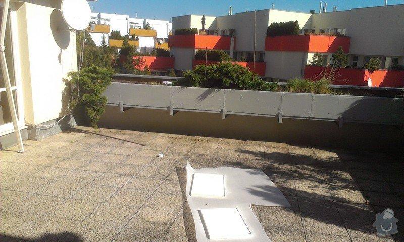 Oprava plavouci podlahy, malirska prace (terasa), oprava dlaždic: Hodinovy_manzel_Praha-8