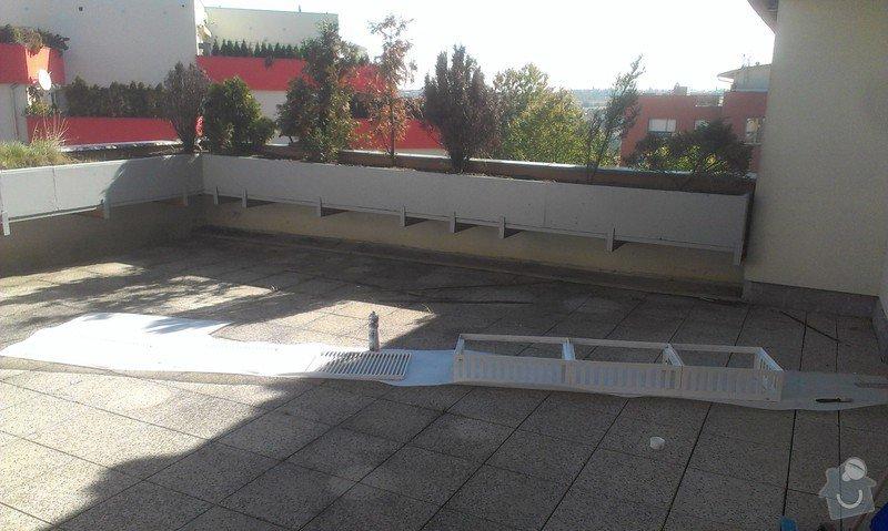 Oprava plavouci podlahy, malirska prace (terasa), oprava dlaždic: Hodinovy_manzel_Praha-9