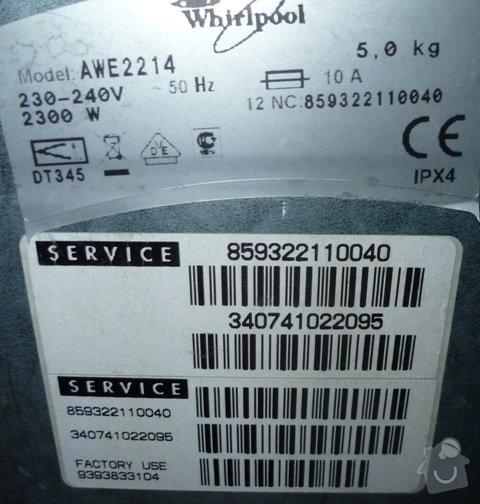 Oprava pračky: P1070876