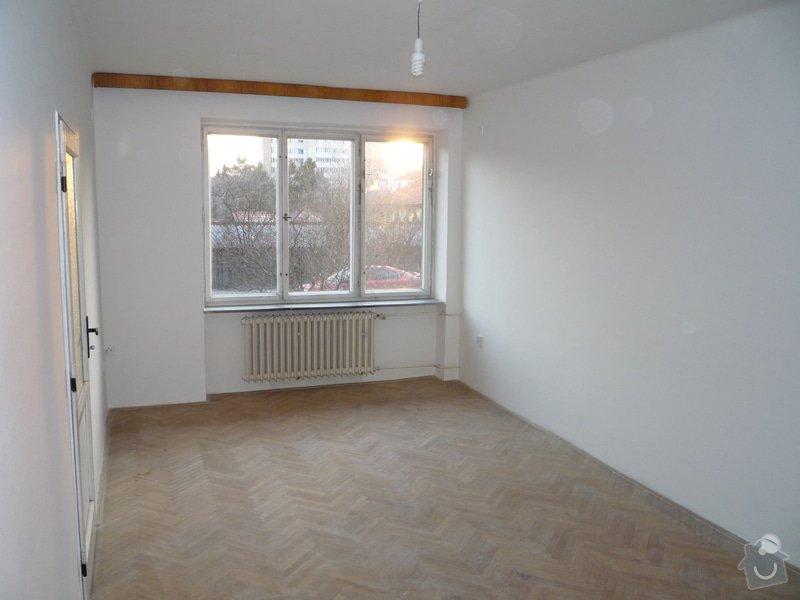 Broušení parket (46,7 m2 - 3 pokoje): Pokoj_I