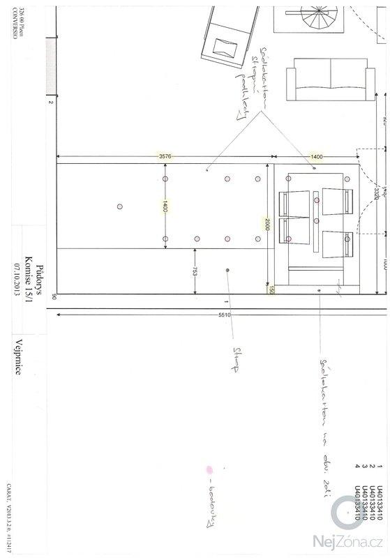 Sádrokartonové podhledy + rozvody bodovek - 25m/2: skenovani0005
