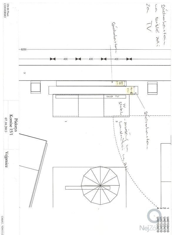 Sádrokartonové podhledy + rozvody bodovek - 25m/2: skenovani0006