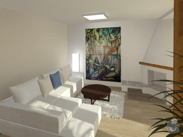 Porada s interiérem kuchyně a obývacího pokoje: Byt_Jerabinova_obyvak_24