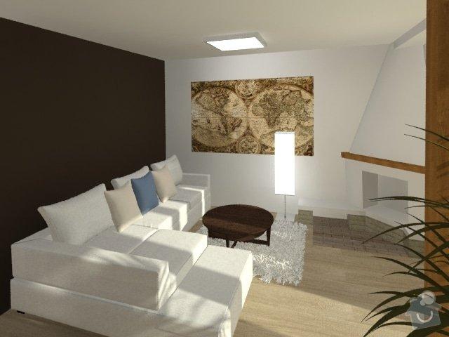 Porada s interiérem kuchyně a obývacího pokoje: Byt_Jerabinova_obyvak_33