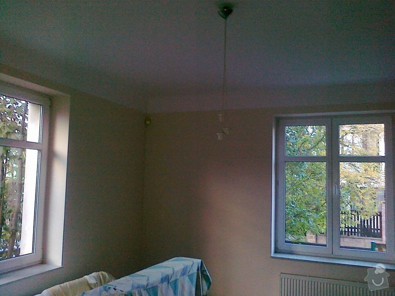 Malířské práce, v případě spokojenosti pak kuchyň, položení podlahy, nalakování vnitřních dveří v domě: 2013_019