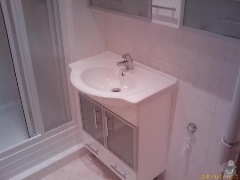Rekonstrukce koupelny a Wc: 200910131620_234