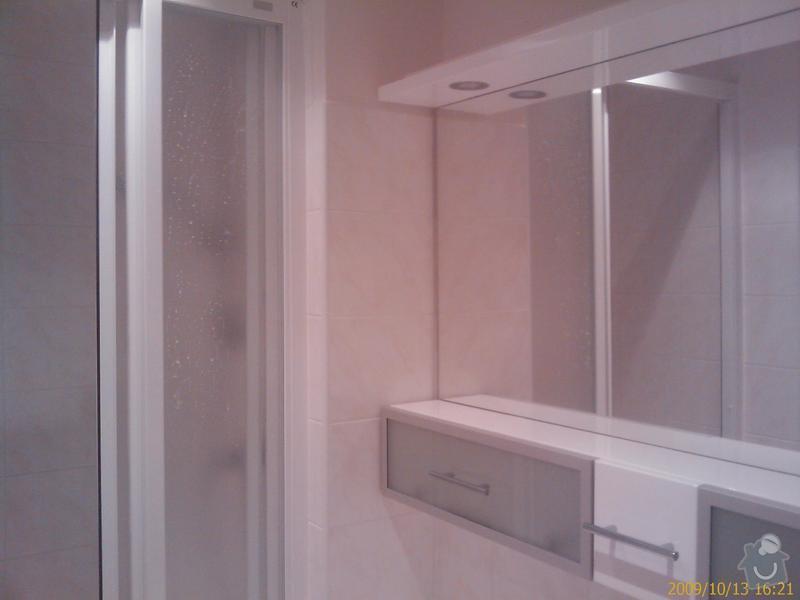 Rekonstrukce koupelny a Wc: 200910131621_236