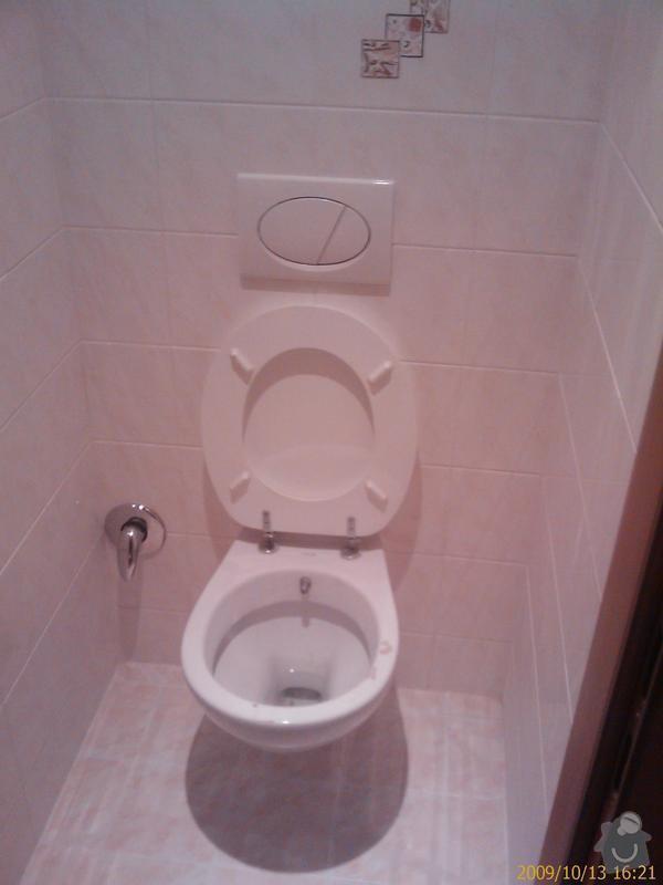 Rekonstrukce koupelny a Wc: 200910131621_238