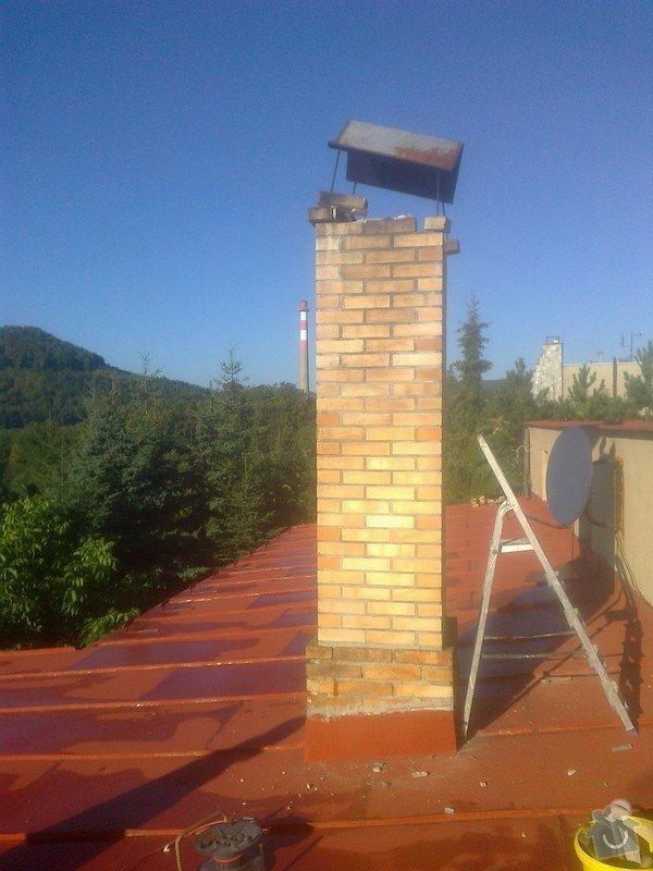 Bourání starého komínu a stavba nového: Fotografie0682