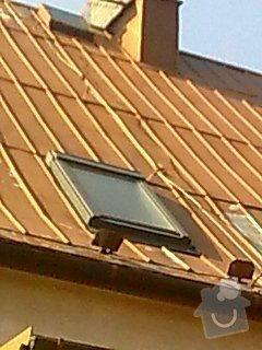 Nátěr plechové střechy na rod. domku: Obraz0553