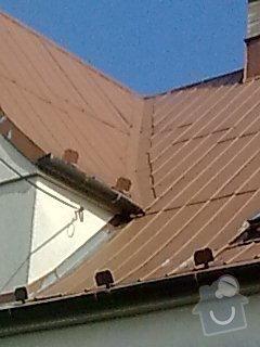 Nátěr plechové střechy na rod. domku: Obraz0557