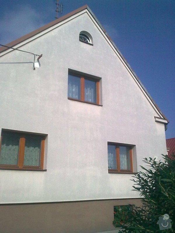 Nátěr plechové střechy na rod. domku: Obraz0555