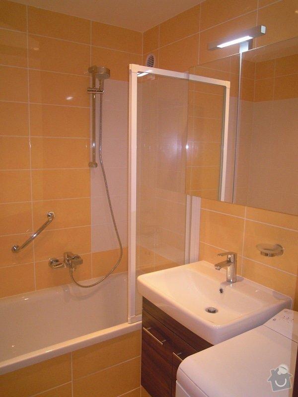 Kompletní rekonstrukce koupelny a toalety: 189-06