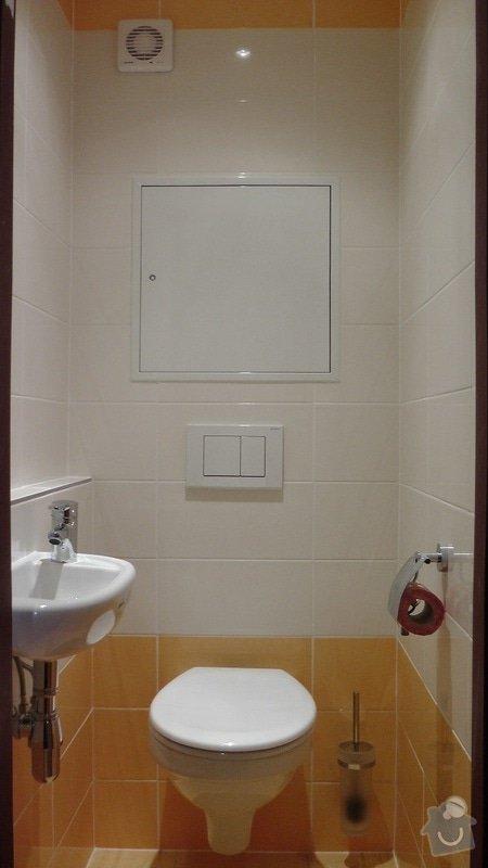 Kompletní rekonstrukce koupelny a toalety: 189-07