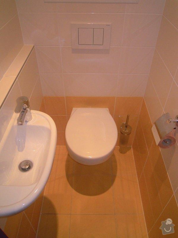 Kompletní rekonstrukce koupelny a toalety: 189-08