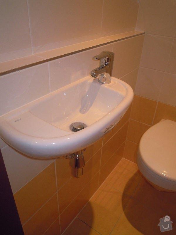 Kompletní rekonstrukce koupelny a toalety: 189-09