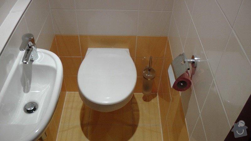 Kompletní rekonstrukce koupelny a toalety: 189-10