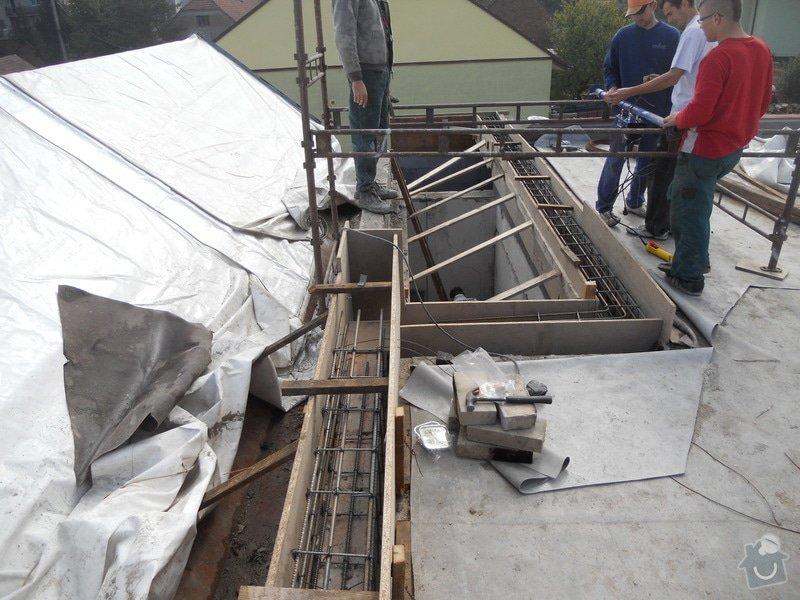 Opravu ploché střechy: DSCN1464