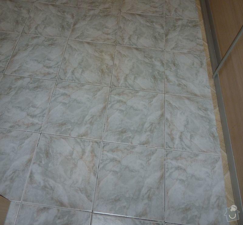 Malířské práce (3 pokoje), obložení kuchyňské linky, odstranění dlažby 7,5 m2, srovnání podlahy a položení PVC: fotka_1