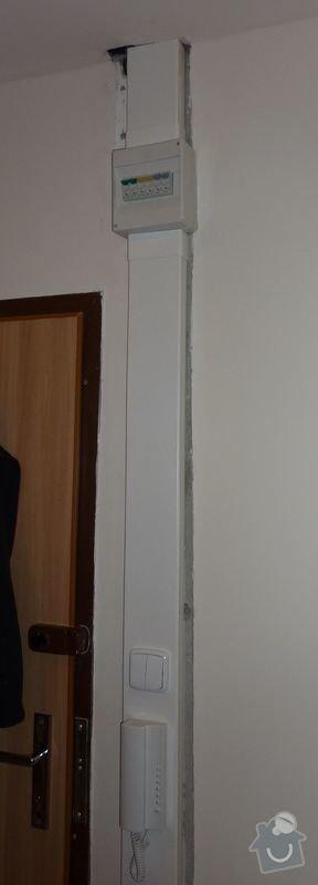 Malířské práce (3 pokoje), obložení kuchyňské linky, odstranění dlažby 7,5 m2, srovnání podlahy a položení PVC: fotka_2