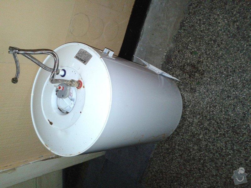 Instalace elektrickeho bojleru: 20131011_184510