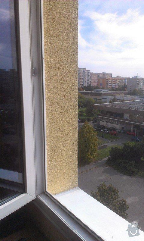 Instalace sítě na kočky do okna: IMAG3063