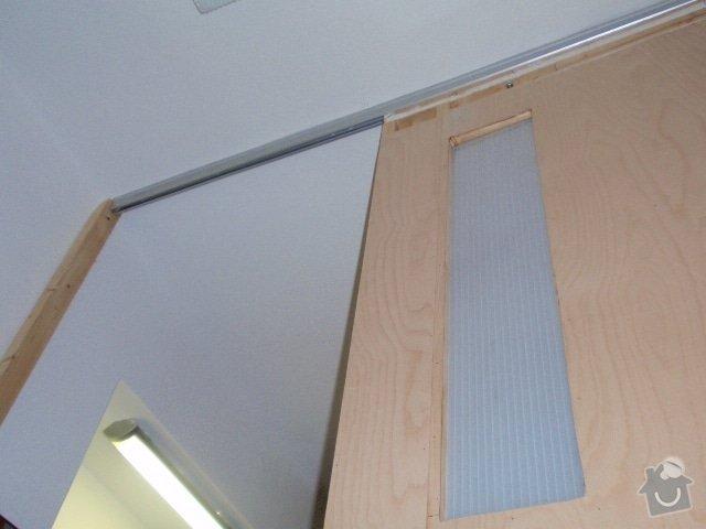 Zedník - instalace zárubně 125cm do atypického otvoru + rozšíření výklenku: dvere_lista