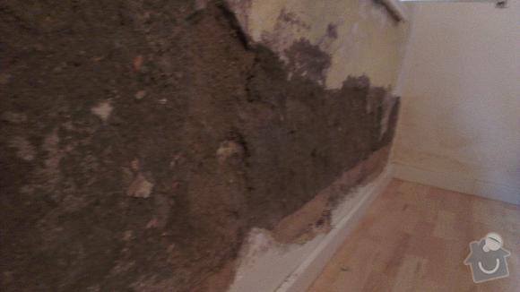 Renovace odpadlého zdiva: 1