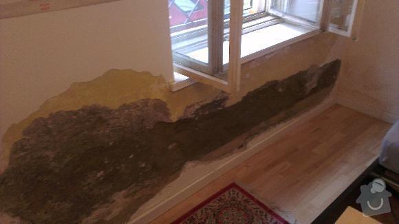 Renovace odpadlého zdiva: 2