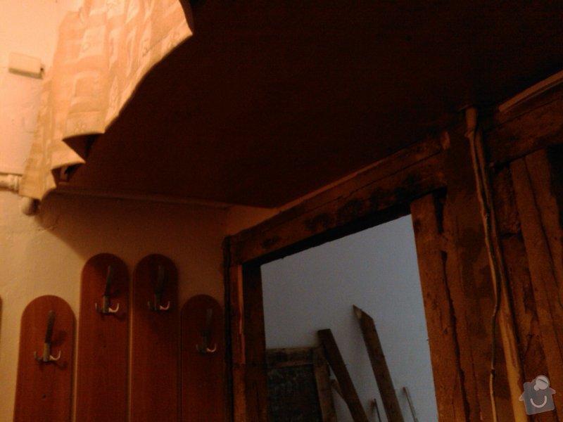 Vybourání otvoru pro dveře + úprava vedení trubky k WAW: IMG414