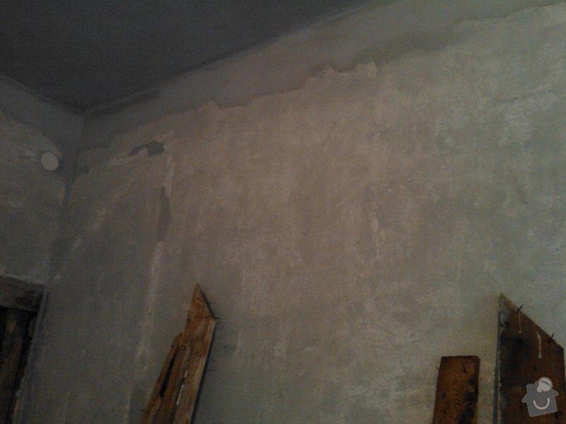 Vybourání otvoru pro dveře + úprava vedení trubky k WAW: IMG422