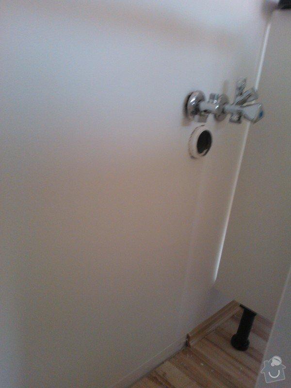 Vodoinstalační, zednické, truhlářské a elektrikářské práce: WP_000478