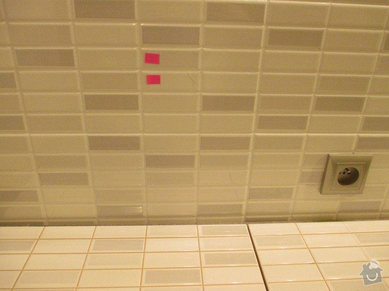 Oprava obkladu - mozaika: 080