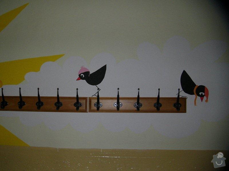 Dekorace stěny chodby MC Oáza: P1260760