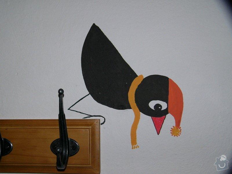Dekorace stěny chodby MC Oáza: P1260763