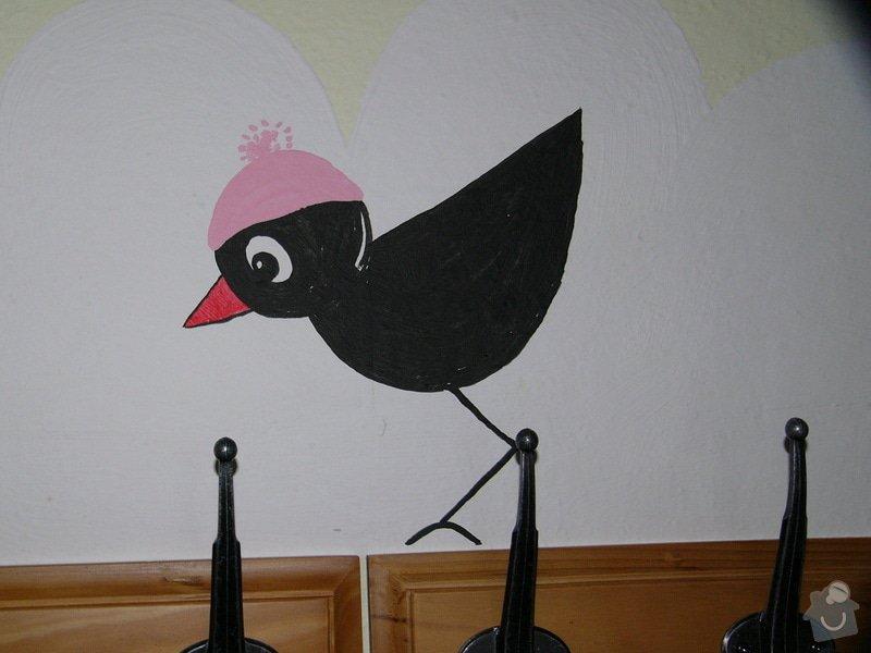 Dekorace stěny chodby MC Oáza: P1260764