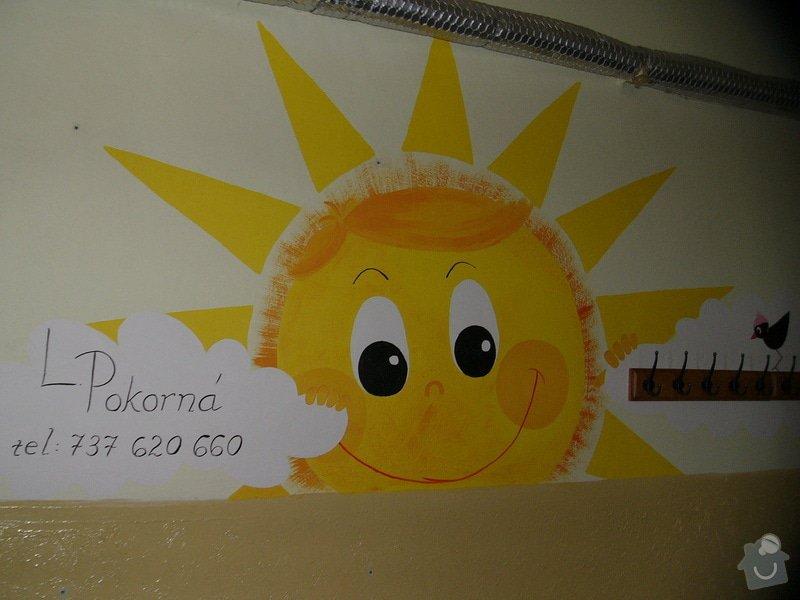 Dekorace stěny chodby MC Oáza: P1260765