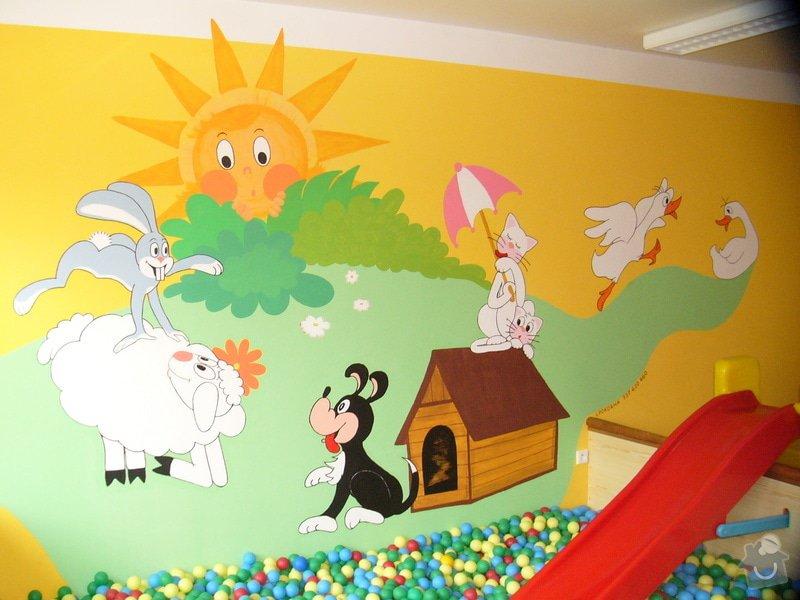 Nástěnná malba v mateřském centru Poděbrady: P1170259