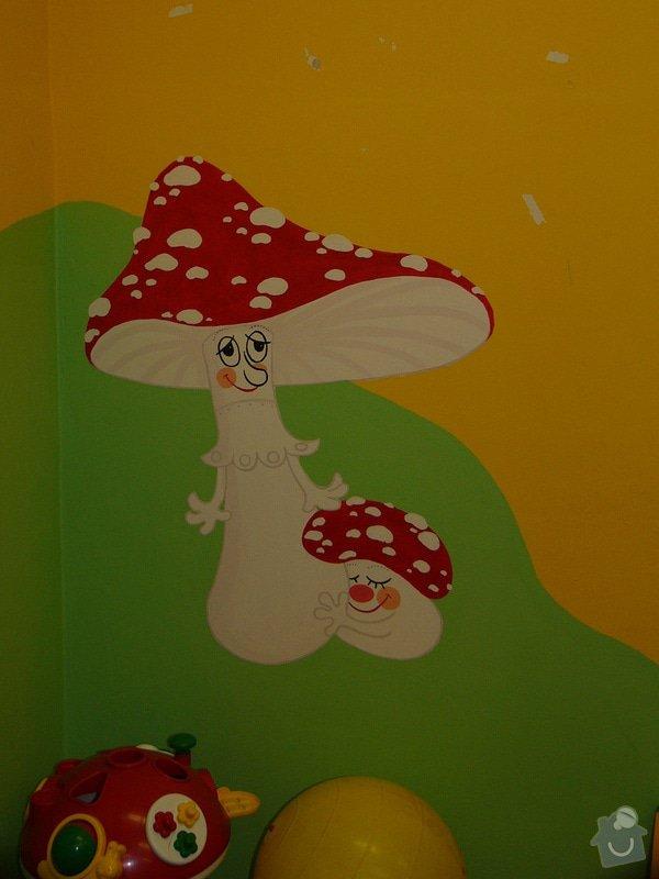 Nástěnná malba v mateřském centru Poděbrady: P1170363
